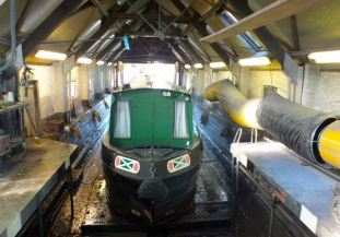 Patience in dry dock April 2015 Day 1