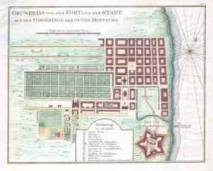 1750_Bellin_Map_of_Cape_Town,_South_Africa_-_Geographicus_-_Gundriss-bellin-1750