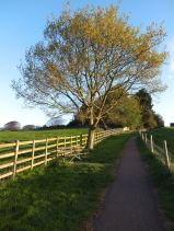 Path to Braunston village